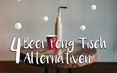 Kein Beer Pong Tisch? Kein Problem! 4 Alternativen für Haus & Hof