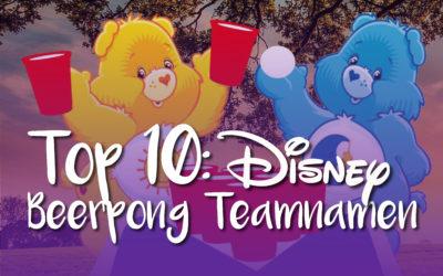 BEERPONG TEAMNAMEN: Top10 Disney Varianten
